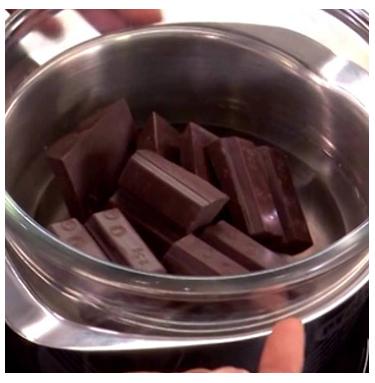 Derretir Chocolate Al Baño Maria   Como Fundir Chocolate En Bano Maria Costarican Cocoa